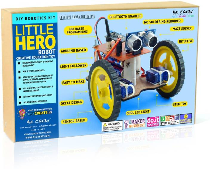 Be Cre8v Little Hero Educational Robotics Kit