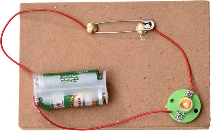 ProjectsforSchool Simple Electric Switch - DIY Kit for Science