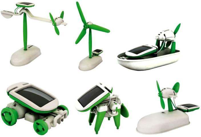 JM 6 in 1 Solar Kit Toy