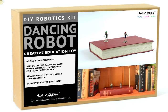 Be Cre8v Be Cre8v Dancing Bot Robotics DIY Kit