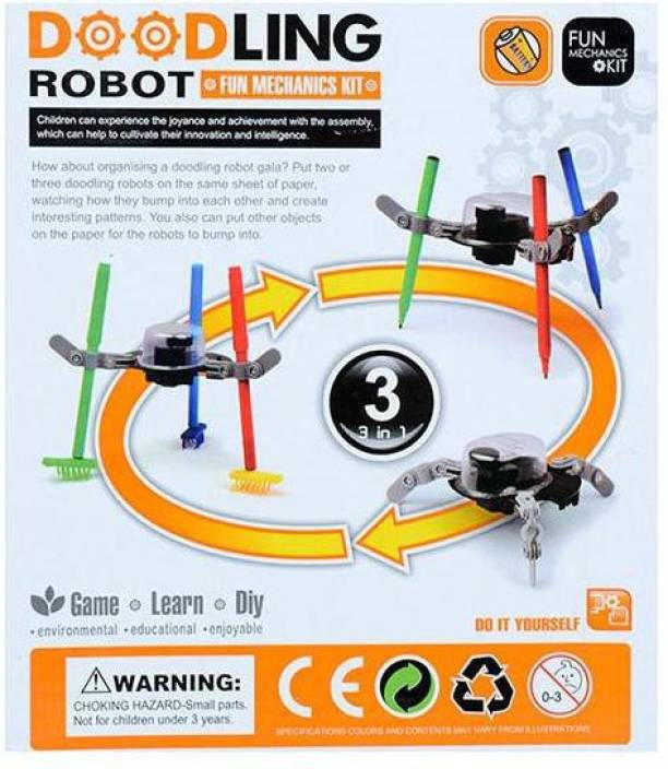 Emob Educational 3 in 1 Doodling Robot Mechanics