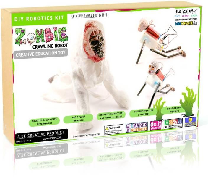 Be Cre8v Zombie Crawler DIY Robotics Kit