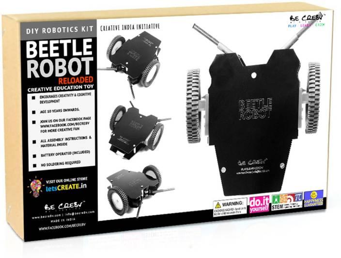Be Cre8v Beetle Bot v2.0 Robotics Kit