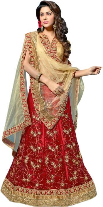 Kanheyas Embroidered Lehenga, Choli and Dupatta Set
