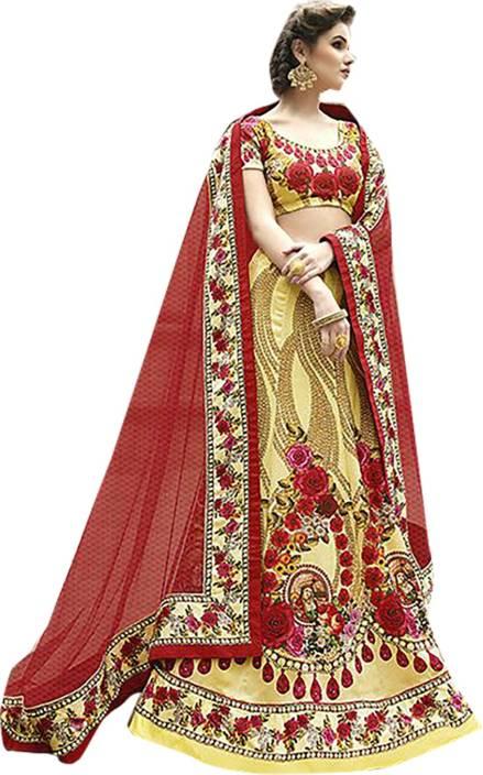 Ishin Embellished Lehenga, Choli and Dupatta Set