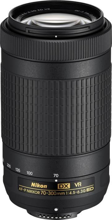 Nikon AF-P DX NIKKOR 70 - 300 mm f/4.5 - 6.3G ED VR  Lens