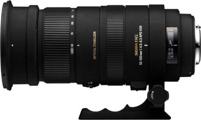 Sigma 50 - 500 mm F4.5-6.3 APO DG OS HSM for Canon Digital SLR  Lens