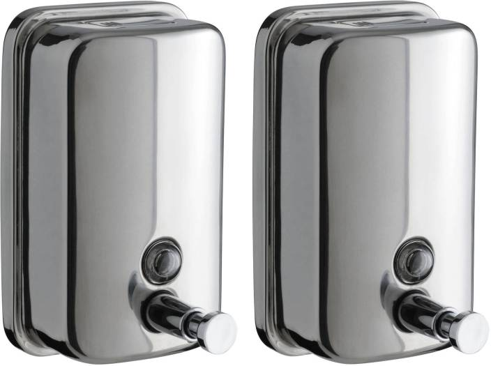 Dolphy Stainless Steel Liquid 800 ml Shampoo Dispenser