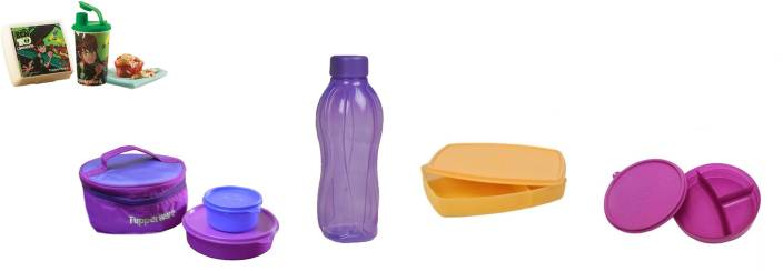 Tupperware Classic 7 Containers Lunch Box