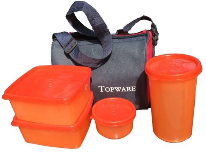 TOP WARE TOP001 4 Containers Lunch Box