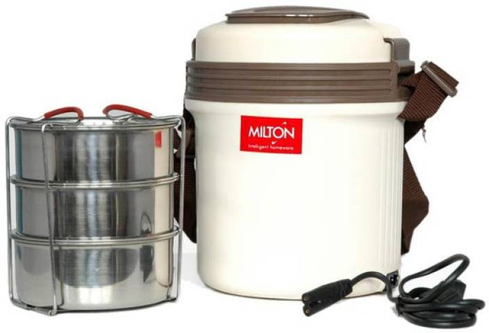 Milton Electric Tiffin 3 Containers Lunch Box