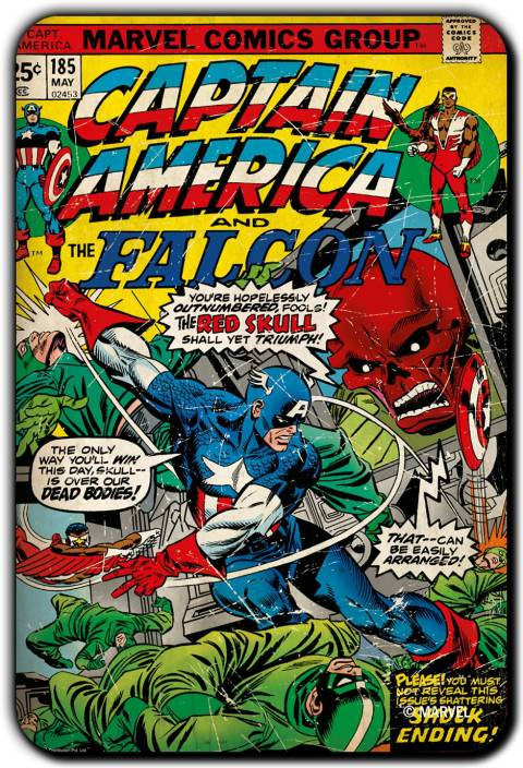 Marvel Falcon-Captain America pack of 1 (Officially Licensed