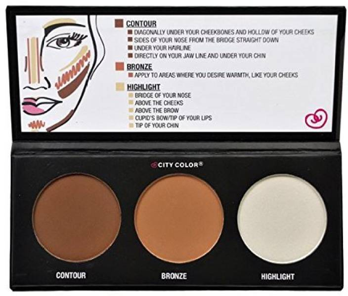 Coloring Effects Online : City color cosmetics contour effects palette price in india buy