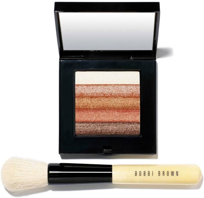 Bobbi Brown Bronze Shimmer Brick Set and Blusher Brush