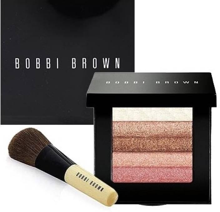 Bobbi Brown Rose Shimmer Brick Set Blusher Brush Price In India
