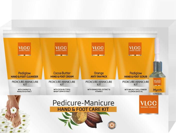 VLCC Pedicure Manicure Kit  (210 g, Set of 5)
