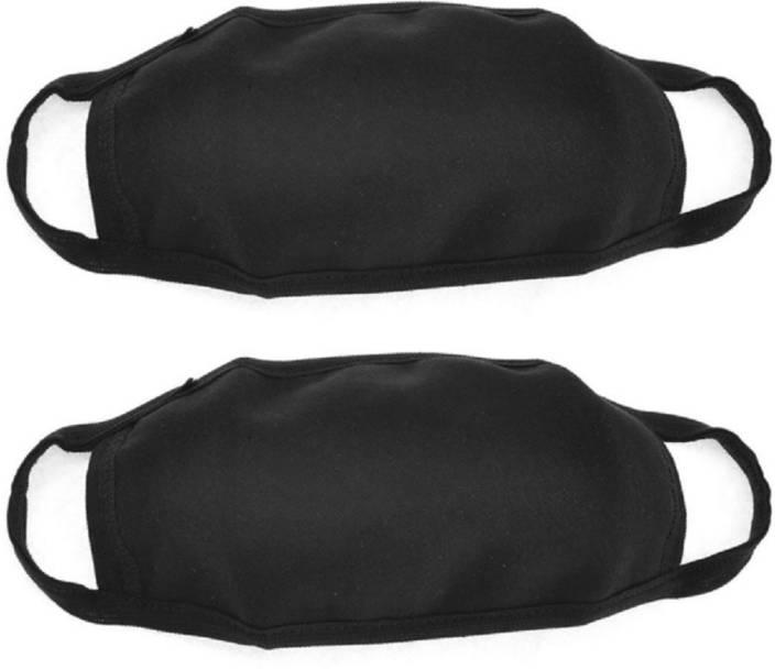 Jern Black Bike Face Mask for Men & Women