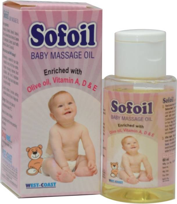 West Coast Sofoil Baby Massage Oil (Pack of 2)