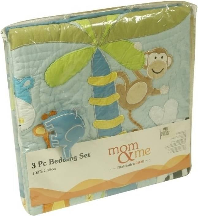 Mom Me CribSheet Comforter Set Jungle Papa