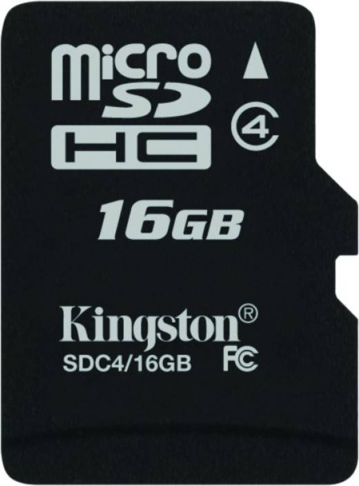 b682050ef Kingston 16 GB MicroSD Card Class 4 4 MB s Memory Card - Kingston    Flipkart.com
