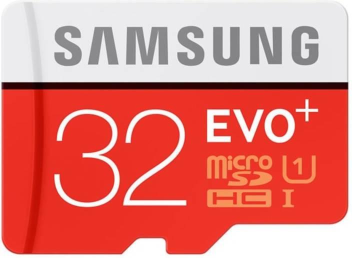 Samsung Evo Plus 32 Gb Microsdhc Class 10 80 Mb S Memory Card