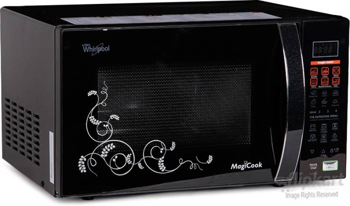 Whirlpool 20 L Convection Microwave Oven Magicook 20l Elite B S Black