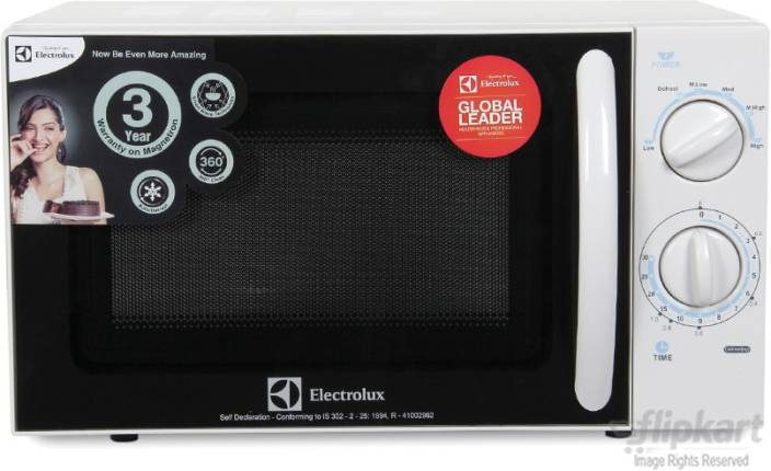Electrolux 20 L Solo Microwave Oven