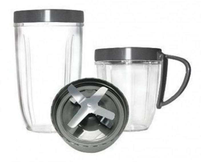 NutriBullet Cup And Blade Replacement Set 600 W Mixer Grinder