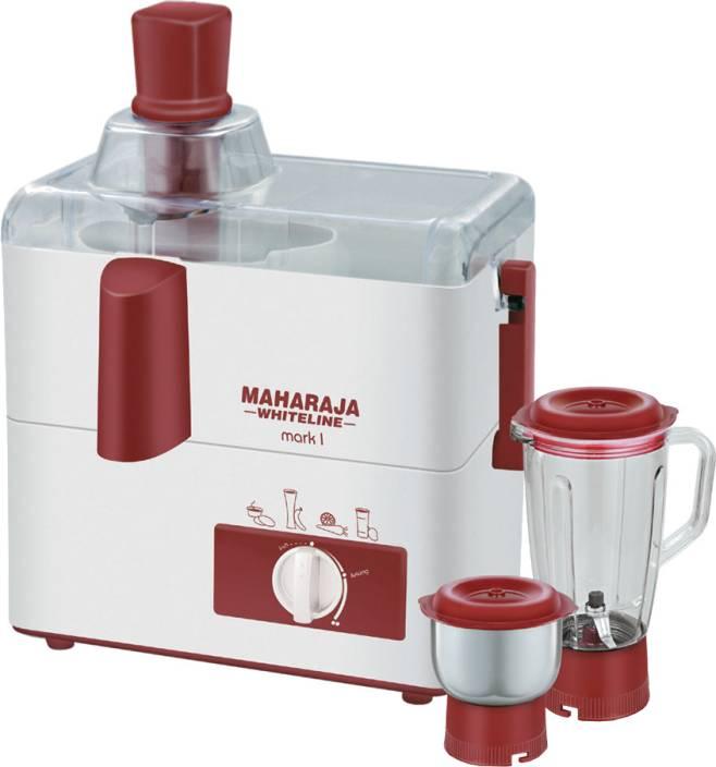 Maharaja Whiteline Mark-1 450 W Juicer Mixer Grinder