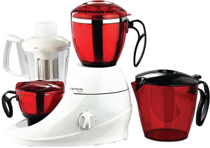 Butterfly Desire 3 746 W Juicer Mixer Grinder