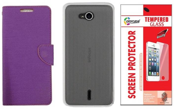 huge discount 64e24 ae2da Colorcase Case Accessory Combo for Infocus Bingo 21 M430 Price in ...