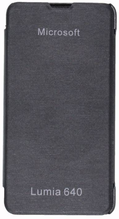 "Evoque Flip Cover for Microsoft Lumia 640 Dual SIM (5"")"