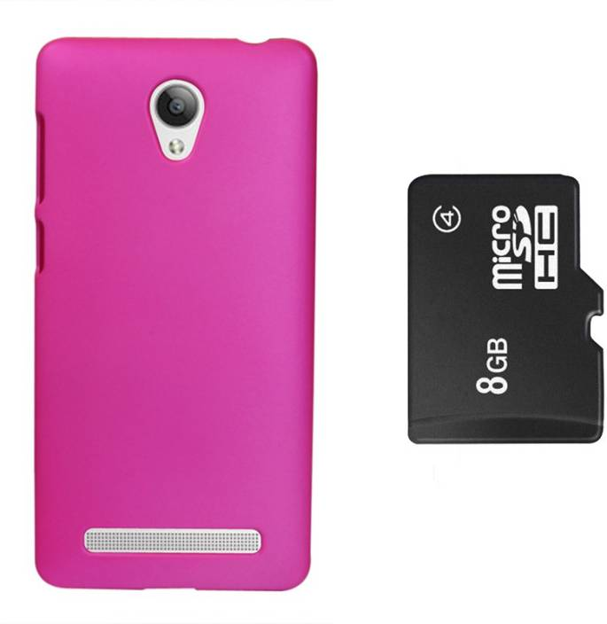finest selection ac309 54f6a Blue Rock Back Cover, 8GB Memory Card For Vivo Y28 Accessory Combo ...