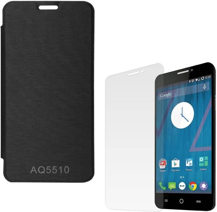 big sale d5121 e216d ASG Mobile Back Cover Case For Micromax Yureka Yu AQ5510 (Black)+ ...