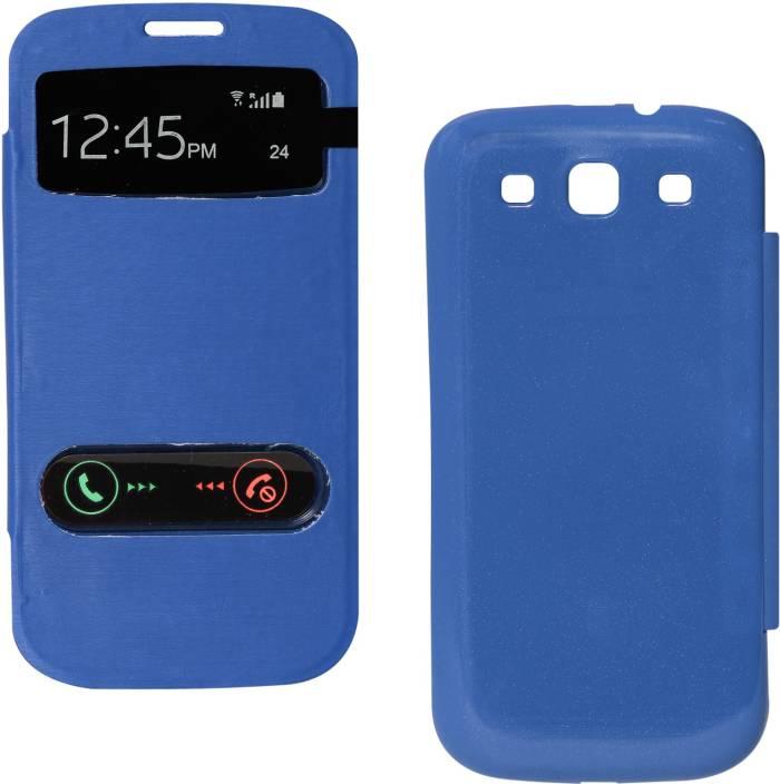 best website 823bb 0aa5e DMG Premium Sview Flip Cover Case For Samsung Galaxy S3 Neo i9301 ...