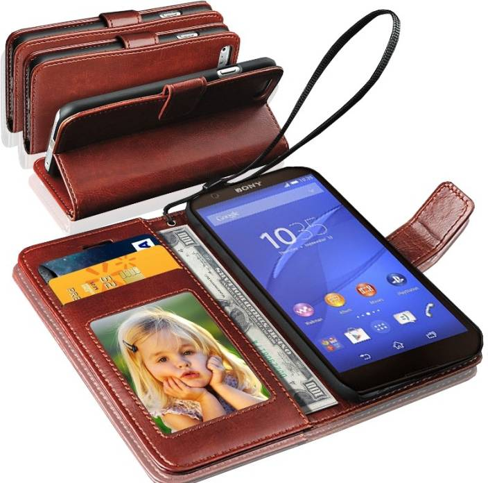 GBOS Wallet Case Cover for Sony Xperia Z5 Premium