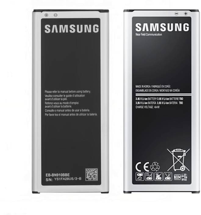Samsung Mobile Battery For Samsung Galaxy Note 4 N9100