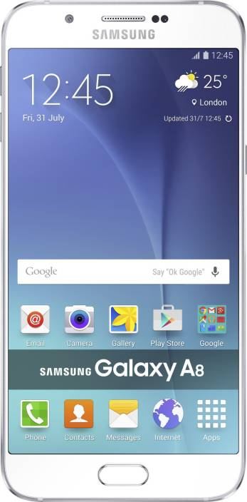 white samsung galaxy phones. samsung galaxy a8 (white, 32 gb) white phones