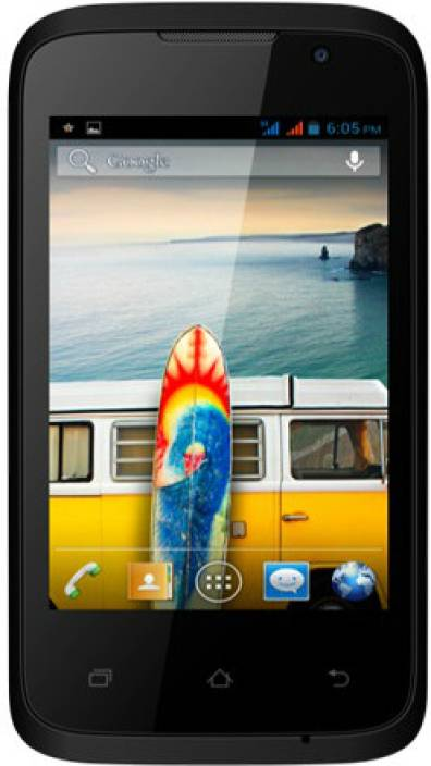 Micromax Bolt A37 (Black, 512 MB)