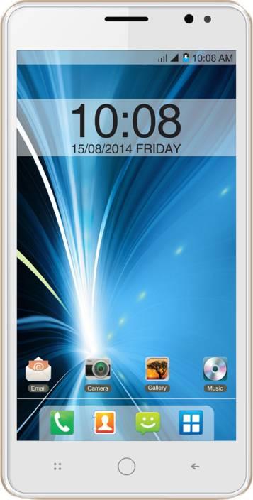 Intex Aqua Star 5.0 (White & Champagne, 8 GB)