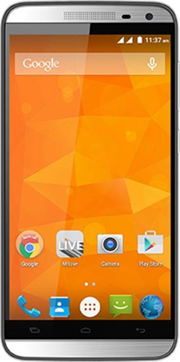 Micromax Canvas Juice 2 (Silver, 8 GB)