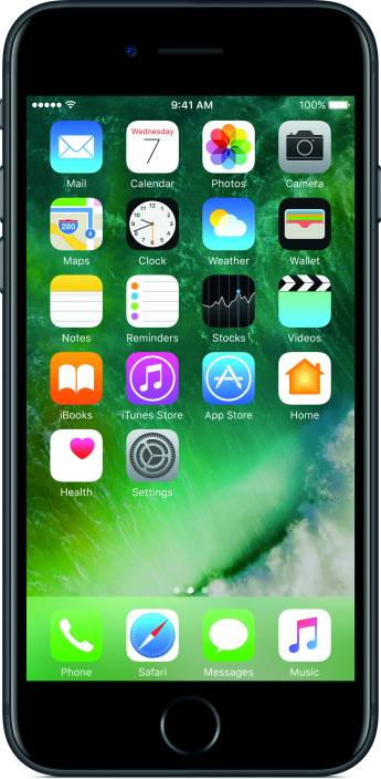 Apple iPhone 7 (Black, 256 GB)