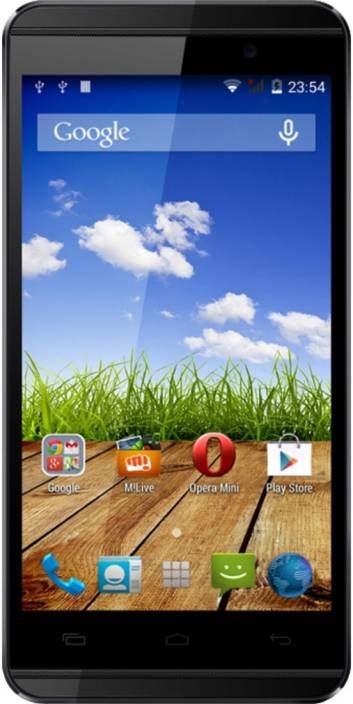 Micromax Canvas Fire 2 A104 (Black and Silver, 4 GB)