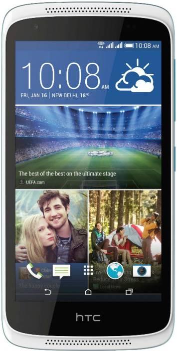HTC Desire 526G Plus (Glacier Blue, 16 GB)