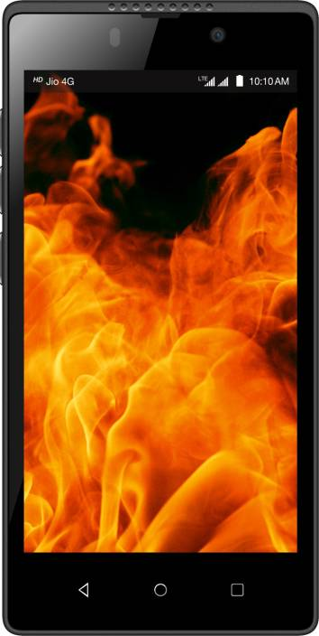 LYF Flame 8 (Black, 8 GB)