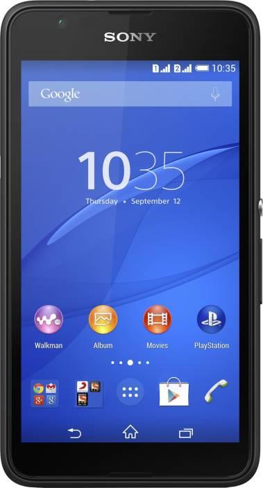 Sony Xperia E 4G Dual (Black, 8 GB)