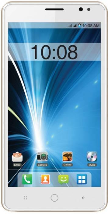 Intex Aqua Star L (White Champagne, 8 GB)