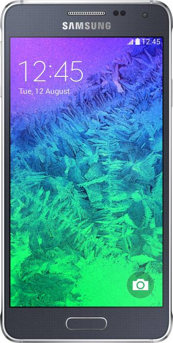Samsung Galaxy Alpha (Charcoal Black, 32 GB)