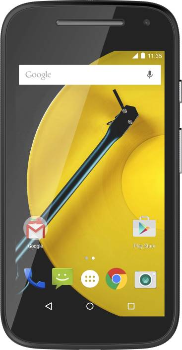 Moto E (2nd Gen) 3G (Black, 8 GB)