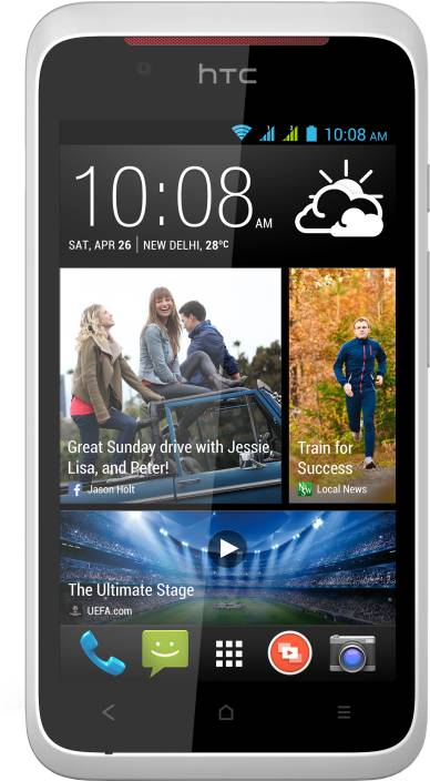 HTC Desire 210 Dual Sim (White, 4 GB)